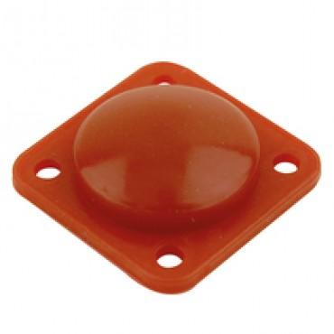 Кнопка переключателя ножного управления резиновая (красная) Dhollandia