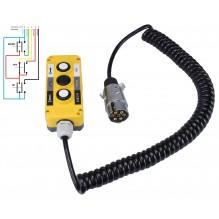 Пульт управления 3-х кнопочный (2NO+NO/NC+2NO) универсальный