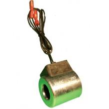 Катушка клапана 24V 25ohm с проводом L=0,4m Ø18x40