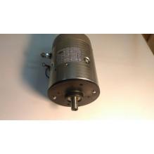 Электромотор на зубчатом соединении