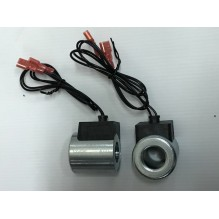 Катушка клапана 24V с проводом 0.4m  Ø18x40